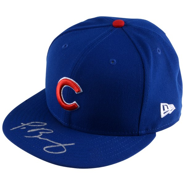 Autographed Chicago Cubs Javier Baez Fanatics Authentic New Era Cap