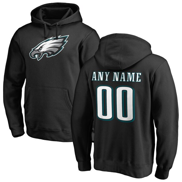 Men's Philadelphia Eagles NFL Pro Line Black Perso wholesale Zach Ertz jersey Discount