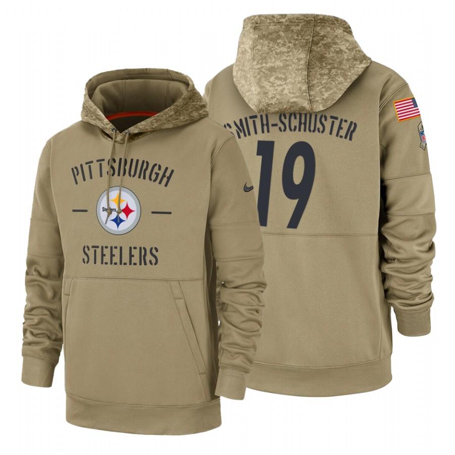 Pittsburgh Steelers #19 JuJu Smith-Schuster Nike T hurricanes in china